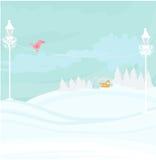 vinterliggande Arkivbilder