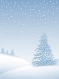 Vinterliggande royaltyfri illustrationer