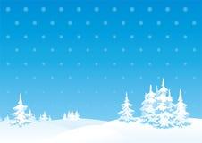 Vinterliggande Arkivbild