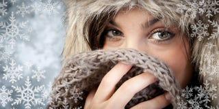 Vintermode Fotografering för Bildbyråer