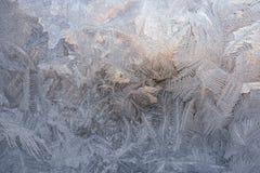 Vintermodeller från is Arkivfoto