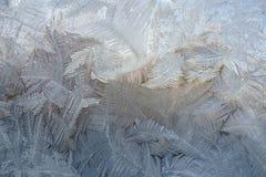 Vintermodeller från is Arkivbild