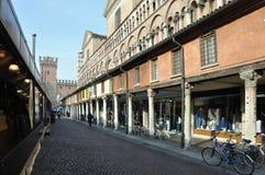 Vintermorgon i Ferrara Royaltyfria Foton