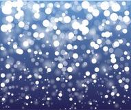 Vintern blänker abstrakt bakgrund Royaltyfria Foton