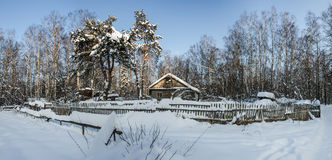 Vintern i en fjärrkontroll förlägger Royaltyfri Bild
