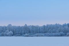 Vintern kom Arkivbild