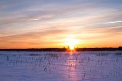 Vintern landskap. Sammansättning av naturen fotografering för bildbyråer