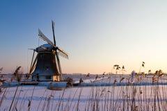 Vintern mal Arkivbilder