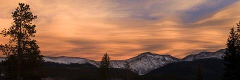 Vintern parkerar, Colorado Royaltyfria Foton