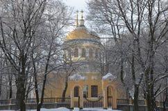 Vintern skissar i ferierna för det nya året Arkivbild