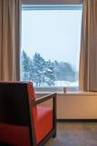 Vintern vilar Arkivbilder