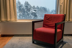 Vintern vilar Royaltyfri Fotografi