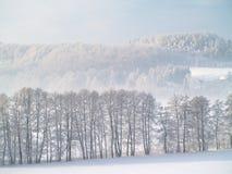 Vinterplats Arkivfoton