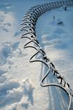 Vinterplats i Florence Royaltyfri Bild