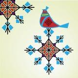 Vinterrapphöna royaltyfri illustrationer