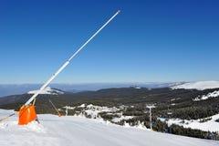 Vintersemester i berg Arkivfoto