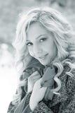 Vinterskönhet Royaltyfri Foto