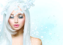 Vinterskönhet royaltyfri fotografi