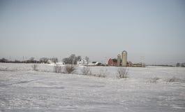 Vinterskönhet Arkivfoto