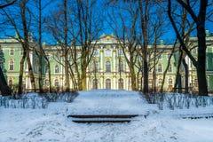 Vinterslott i St Petersburg Royaltyfri Fotografi