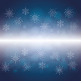 Vintersnö eller snöflinga Royaltyfri Foto