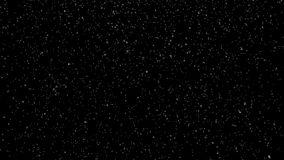 Vintersnöfall Snö som isoleras på svart bakgrund stock illustrationer