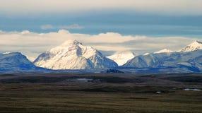 Vintersol på stigande Wolf Mountain Fotografering för Bildbyråer