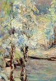 Vinterträd royaltyfria foton