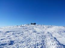 Vinterukrainare Carpathians Royaltyfri Bild