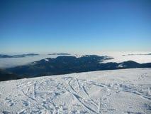 Vinterukrainare Carpathians Royaltyfria Bilder