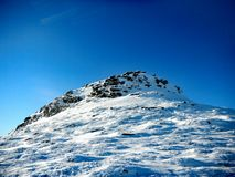 Vinterukrainare Carpathians Royaltyfri Fotografi