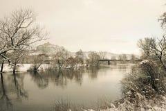 Vinterunderland I Arkivbilder
