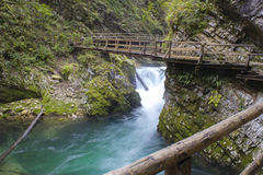Vintgar gorge, Slovenia Stock Photo