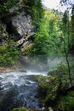 Vintgar Gorge in Slovenia Julian Alps Royalty Free Stock Photos