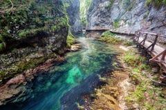Vintgar Gorge Slovenia Royalty Free Stock Images