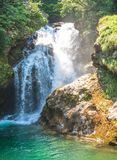 Vintgar Gorge,Triglav National Park,Slovenia, Royalty Free Stock Photo