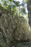 Vintgar gorge view from the bottom. Bled, Slovenia. Stock Photography