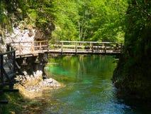 Vintgar Gorge Royalty Free Stock Images