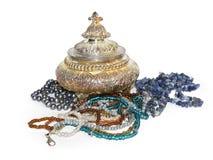 Vintge smyckenask Fotografering för Bildbyråer