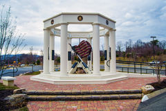 Vinton-Roanoke County Veterans Monument Royalty Free Stock Photo