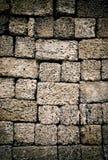 Vinyage stone wall Stock Photo