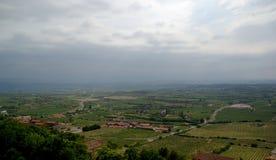 Vinyards w losie angeles Rioja, Hiszpania Zdjęcia Stock