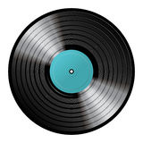 Vinyl. Highly detailed vinyl over white background Stock Photos
