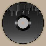 Vinyl Album Retro Sity Royalty Free Stock Images