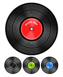 Vinyl audio discs Royalty Free Stock Image