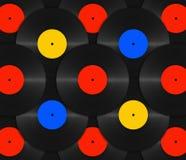 Vinyl background Stock Image