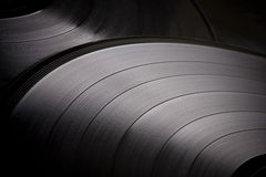 Vinyl background Stock Photos