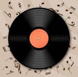 Vinyl. Background -  web design element Stock Photography