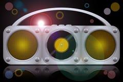 Vinyl boombox Royalty Free Stock Image