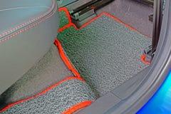 Vinyl car mat Stock Photography
